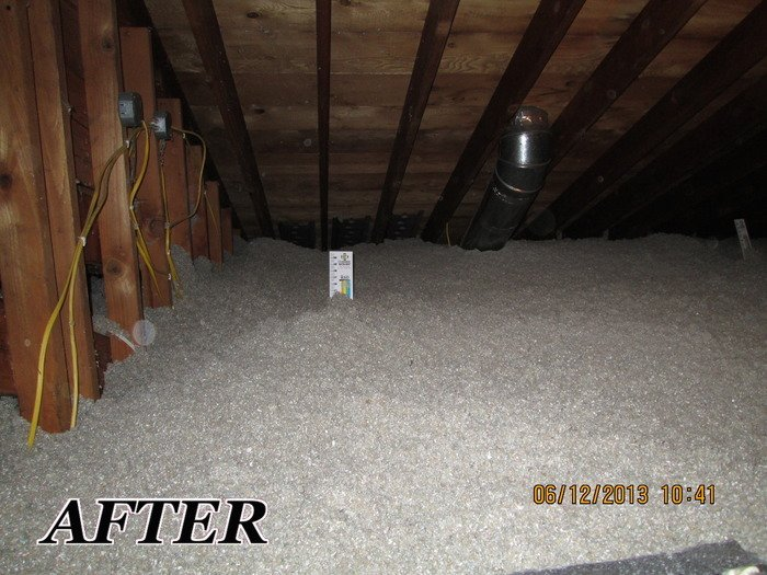 Attic Insulation Blown In Insulation Fiberglass Insulation