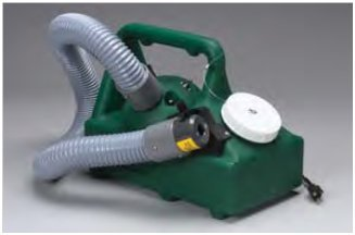 spray a disinfectant throughout the entire air duct system